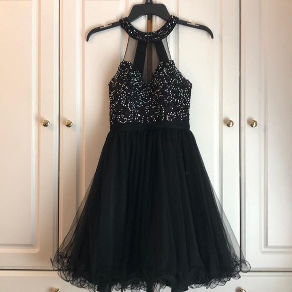 Anny Lee Dresses Black Homecoming Formal Dress Poshmark